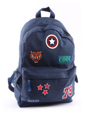 Rugzak Badge and Patch Blue van Vadobag