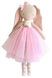 Billy Ballet Bunny White Chintz  van Alimrose