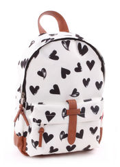 Rugzak Hearts Black and White van Kidzroom