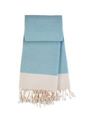 Hamamdoek Comfort - Mint green-grey van Mocco