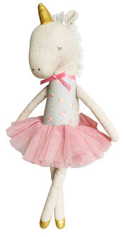 Yvette Unicorn Doll Blush Gold von Alimrose