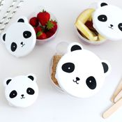 Snackbox set van 4, Panda van a Little Lovely Company