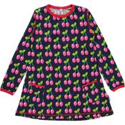 Dress Longsleeve Cherry van Maxomorra