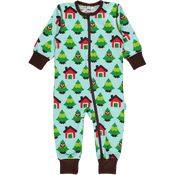 Maxomorra Jumpsuit Forest van Maxomorra