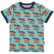Shirt Sea Plane van Maxomorra