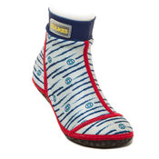 Bekijk Beachsocks marine navy red van Duukies Beachsocks