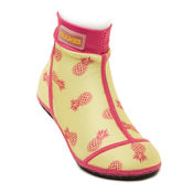 Beachsocks pineapple yellow rose van Duukies Beachsocks
