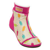 Bekijk Beachsocks poppy fuchsia icecream  van Duukies Beachsocks