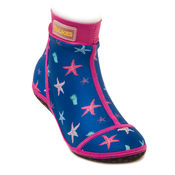 Beachsocks seastarkobalt fuchsia van Duukies Beachsocks