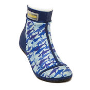 Bekijk Beachsocks sharky navy blue van Duukies Beachsocks