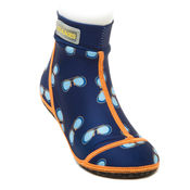 Bekijk Beachsocks sunny navy orange van Duukies Beachsocks