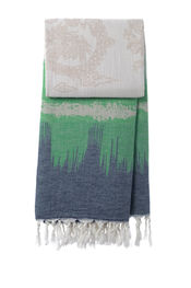 Hammamdoek Graphic Dragon - Dark Blue-Green van Mocco