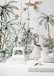 Jungle wall tonal final	 van Annet Weelink