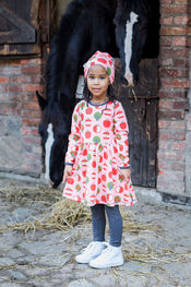Dress Apple van Maxomorra