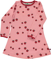 Dress Apples red van Smafolk