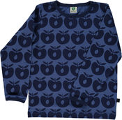 Longsleeve Apples Blue van Smafolk