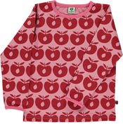 Longsleeve Apples Red van Smafolk
