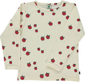 Longsleeve Mini Apple Creme van Smafolk