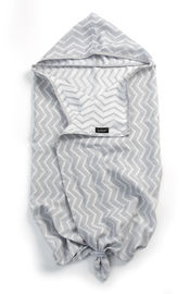 Blenker Hooded Towel (M) - Silver Grey van KipKep