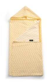 Blenker Hooded Towel - Sunset Yellow (M) von KipKep