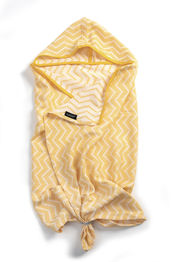 Blenker Hooded Towel - Sunset Yellow (M) van KipKep