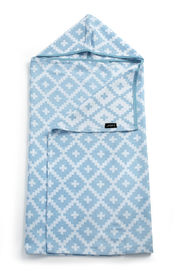 Blenker Hooded Towel - Niagara Blue (M) van KipKep