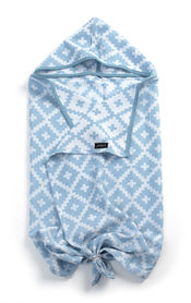 Blenker Hooded Towel - Niagara Blue  van KipKep