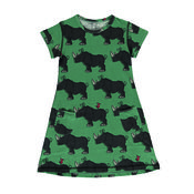 Dress Shortsleeve Rhino van Maxomorra