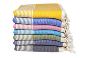 Hamamdoeken stapel van Happy Towels