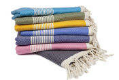 Hamamdoek stapel verschillend van Happy Towels